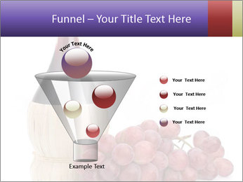 Red Wine and Fresh Grapes PowerPoint Template - Slide 63