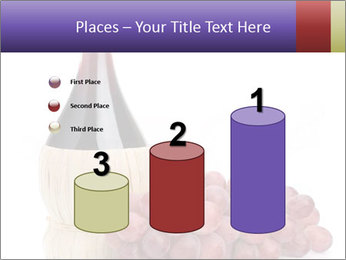 Red Wine and Fresh Grapes PowerPoint Template - Slide 65