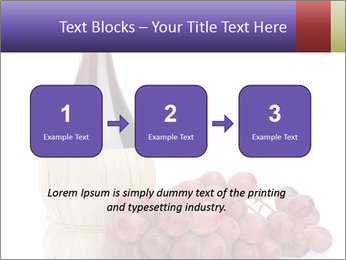 Red Wine and Fresh Grapes PowerPoint Template - Slide 71