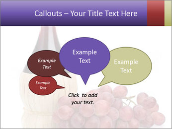 Red Wine and Fresh Grapes PowerPoint Template - Slide 73
