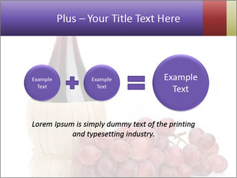 Red Wine and Fresh Grapes PowerPoint Template - Slide 75