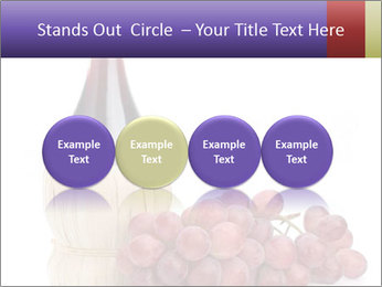 Red Wine and Fresh Grapes PowerPoint Template - Slide 76