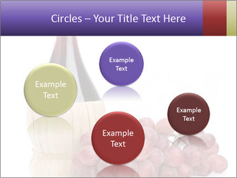 Red Wine and Fresh Grapes PowerPoint Template - Slide 77