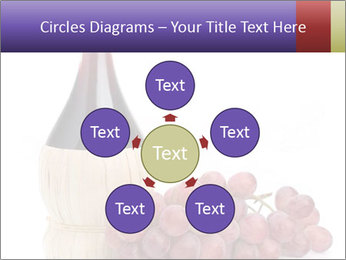 Red Wine and Fresh Grapes PowerPoint Template - Slide 78