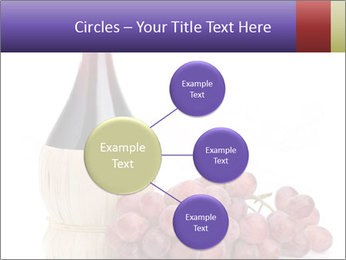 Red Wine and Fresh Grapes PowerPoint Template - Slide 79