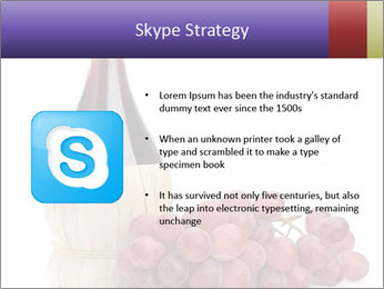 Red Wine and Fresh Grapes PowerPoint Template - Slide 8