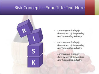 Red Wine and Fresh Grapes PowerPoint Template - Slide 81