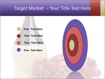Red Wine and Fresh Grapes PowerPoint Template - Slide 84