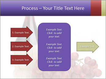 Red Wine and Fresh Grapes PowerPoint Template - Slide 85