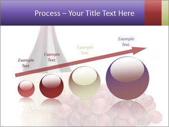 Red Wine and Fresh Grapes PowerPoint Template - Slide 87