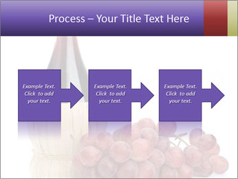 Red Wine and Fresh Grapes PowerPoint Template - Slide 88
