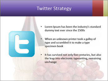Red Wine and Fresh Grapes PowerPoint Template - Slide 9