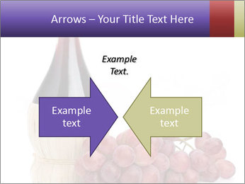 Red Wine and Fresh Grapes PowerPoint Template - Slide 90