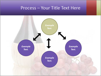 Red Wine and Fresh Grapes PowerPoint Template - Slide 91