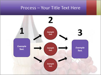 Red Wine and Fresh Grapes PowerPoint Template - Slide 92
