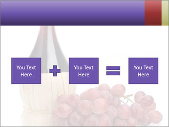Red Wine and Fresh Grapes PowerPoint Template - Slide 95