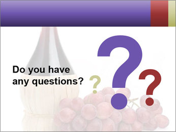 Red Wine and Fresh Grapes PowerPoint Template - Slide 96