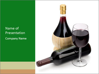 Perfect Red Wine PowerPoint Templates - Slide 1