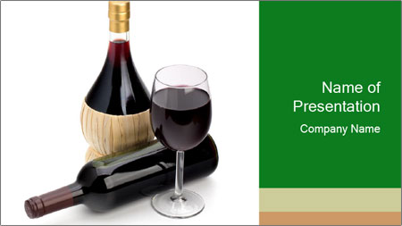 Perfect Red Wine PowerPoint Template