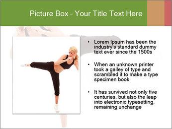 Karate Training for Women PowerPoint Templates - Slide 13