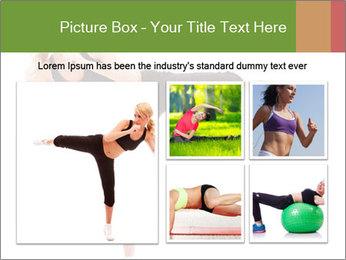 Karate Training for Women PowerPoint Templates - Slide 19