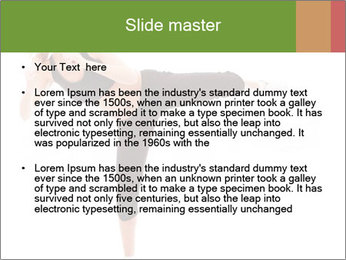 Karate Training for Women PowerPoint Templates - Slide 2