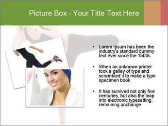Karate Training for Women PowerPoint Templates - Slide 20