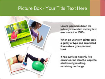 Karate Training for Women PowerPoint Templates - Slide 23