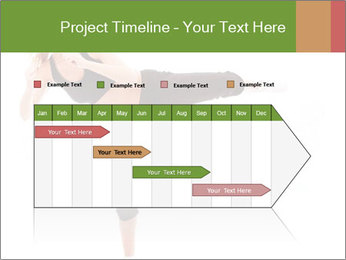 Karate Training for Women PowerPoint Templates - Slide 25