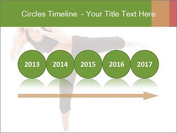 Karate Training for Women PowerPoint Templates - Slide 29
