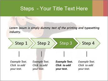Karate Training for Women PowerPoint Templates - Slide 4