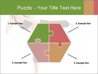 Karate Training for Women PowerPoint Templates - Slide 40
