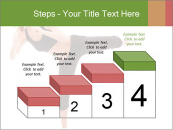Karate Training for Women PowerPoint Templates - Slide 64