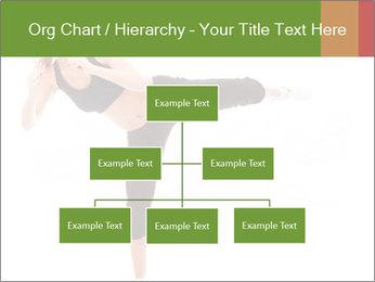 Karate Training for Women PowerPoint Templates - Slide 66