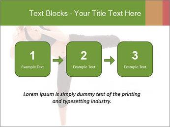 Karate Training for Women PowerPoint Templates - Slide 71