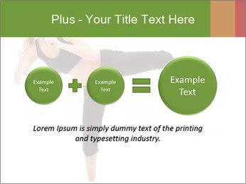 Karate Training for Women PowerPoint Templates - Slide 75