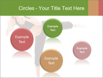 Karate Training for Women PowerPoint Templates - Slide 77