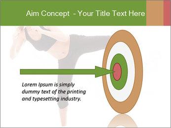 Karate Training for Women PowerPoint Templates - Slide 83