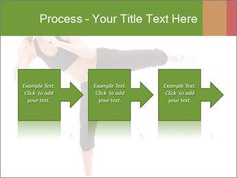 Karate Training for Women PowerPoint Templates - Slide 88