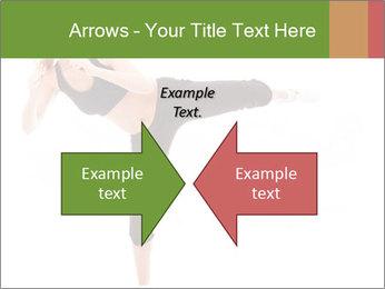 Karate Training for Women PowerPoint Templates - Slide 90