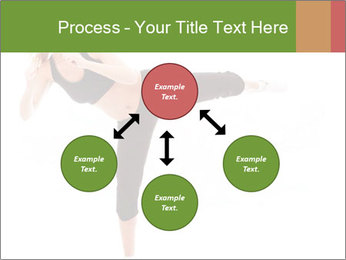 Karate Training for Women PowerPoint Templates - Slide 91