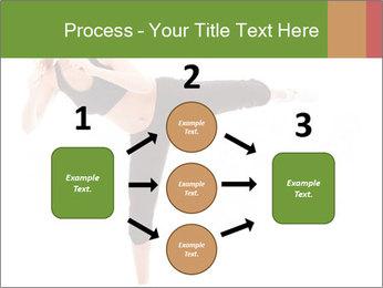 Karate Training for Women PowerPoint Templates - Slide 92