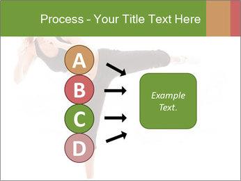 Karate Training for Women PowerPoint Templates - Slide 94