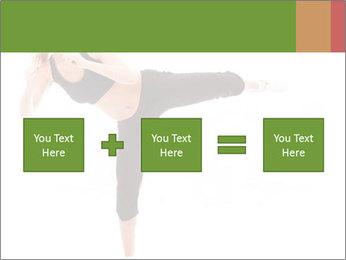 Karate Training for Women PowerPoint Templates - Slide 95