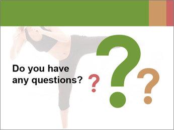 Karate Training for Women PowerPoint Templates - Slide 96