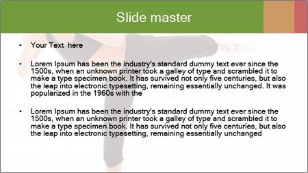 Karate Training for Women PowerPoint Template - Slide 2