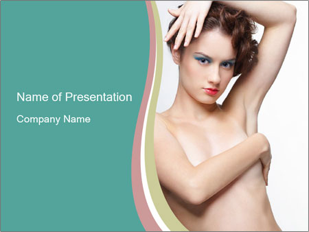 Creative Hairstyle PowerPoint Templates