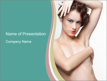 Creative Hairstyle PowerPoint Templates - Slide 1