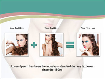 Creative Hairstyle PowerPoint Templates - Slide 22