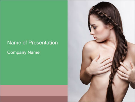 Braid Hairstyle PowerPoint Templates
